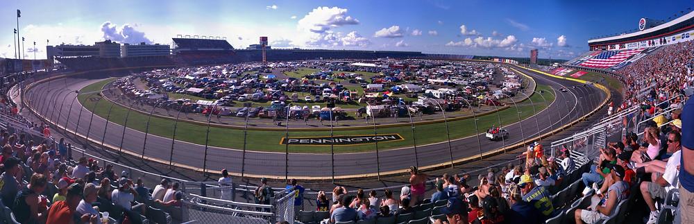 Charlotte Motor Speedway NASCAR Coke 600