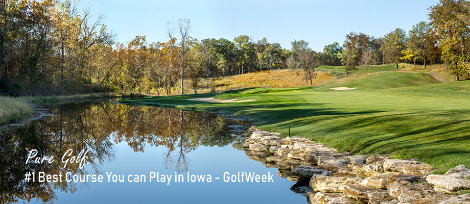 Spirit Hollow, Golf Course, Burlington, Iowa, Rick Jacobson, golfweek, best in state, #1 public course