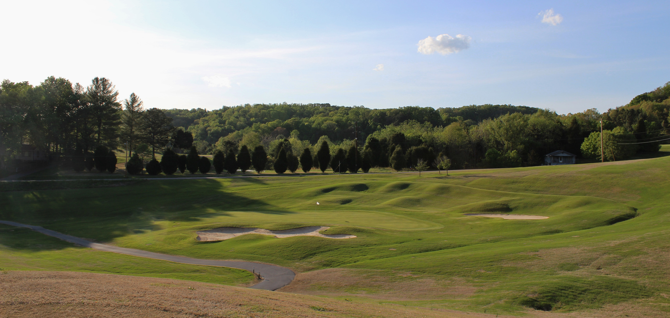 Warrior's Path State Park Golf Course Kingsport TN George Cobb
