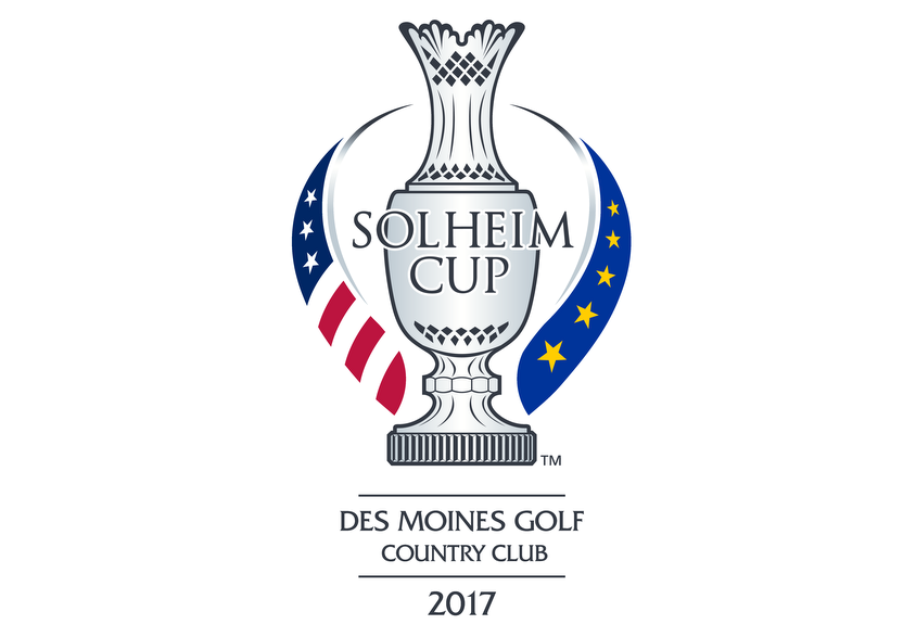 Des Moines Golf and Country Club, Solheim Cup, 2017, logo, pete dye