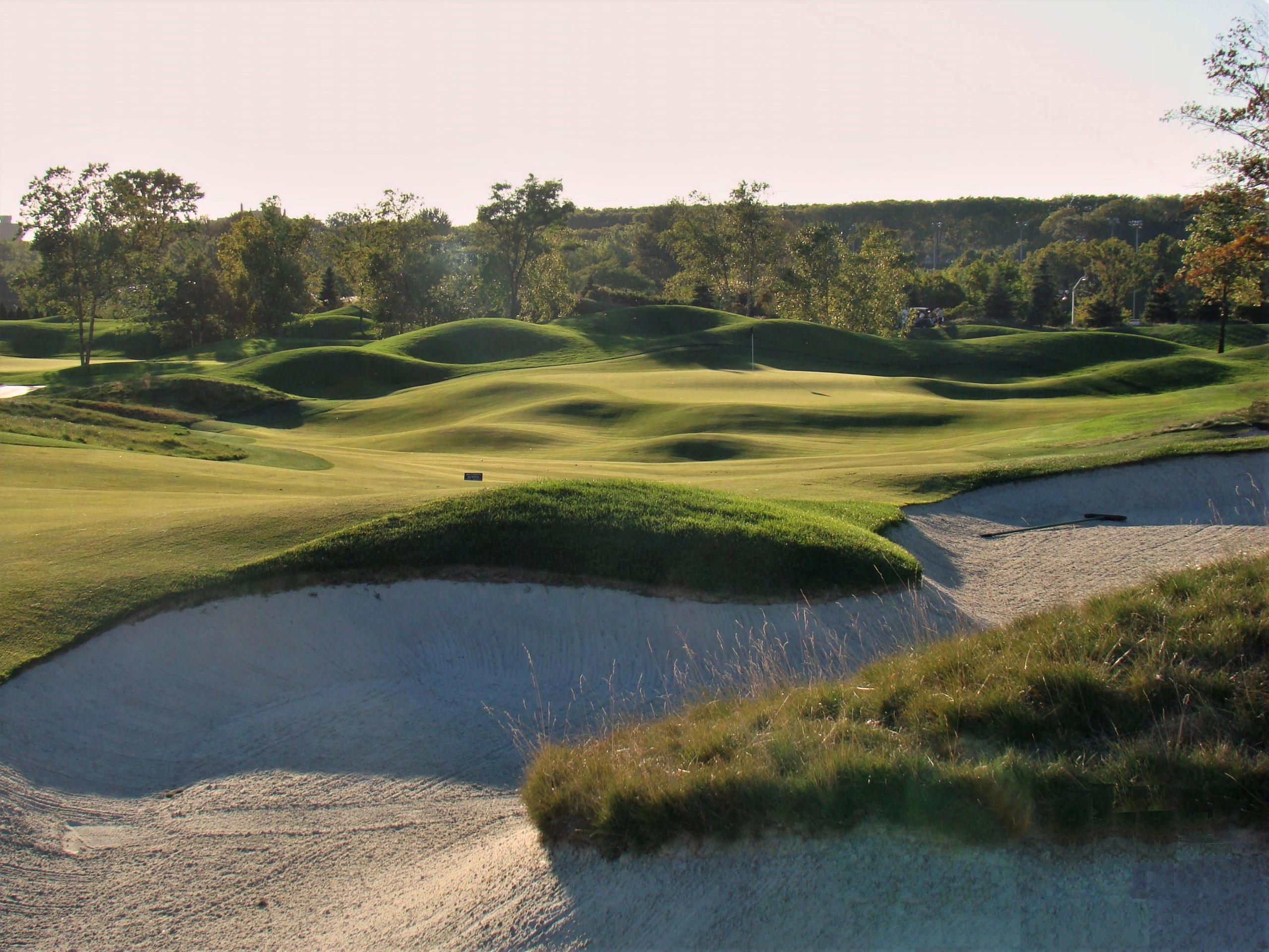 Liberty National Golf Club in Jersey City NJ PGA Top 100 NYC Skyline Tom Kite
