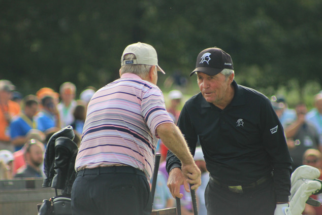 Gary Player Jack Nicklaus The Olde Farm Golf Club Bristol Virginia VA  PGA Tour American Legends