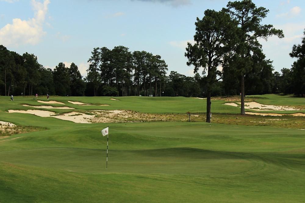 The Cradle short par 3 golf course at pinehurst resort NC Gil Hanse