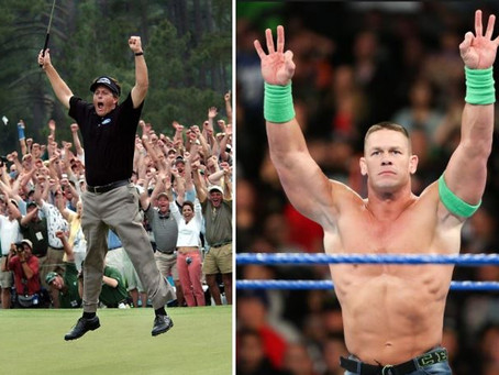 What if PGA Stars were WWE Superstars?