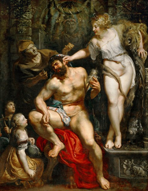 Heracles and Omphale - Peter Paul Rubens, 1603