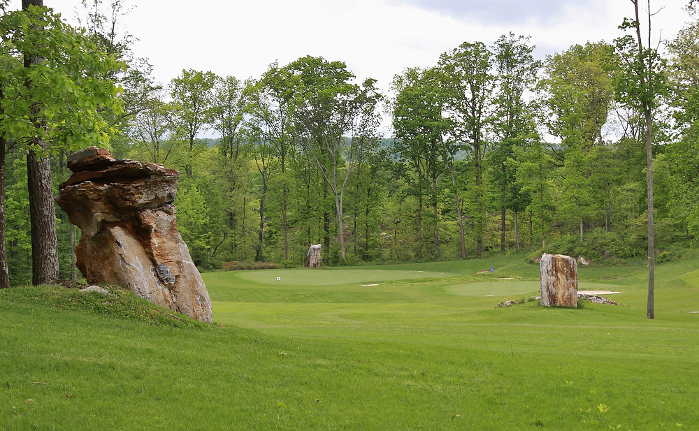 Rock Harbor Golf Course in Winchester VA quarry