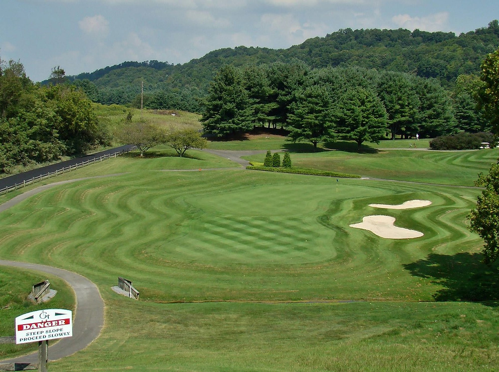 Graysburg Hills golf course Rees Jones 27 holes Tennessee