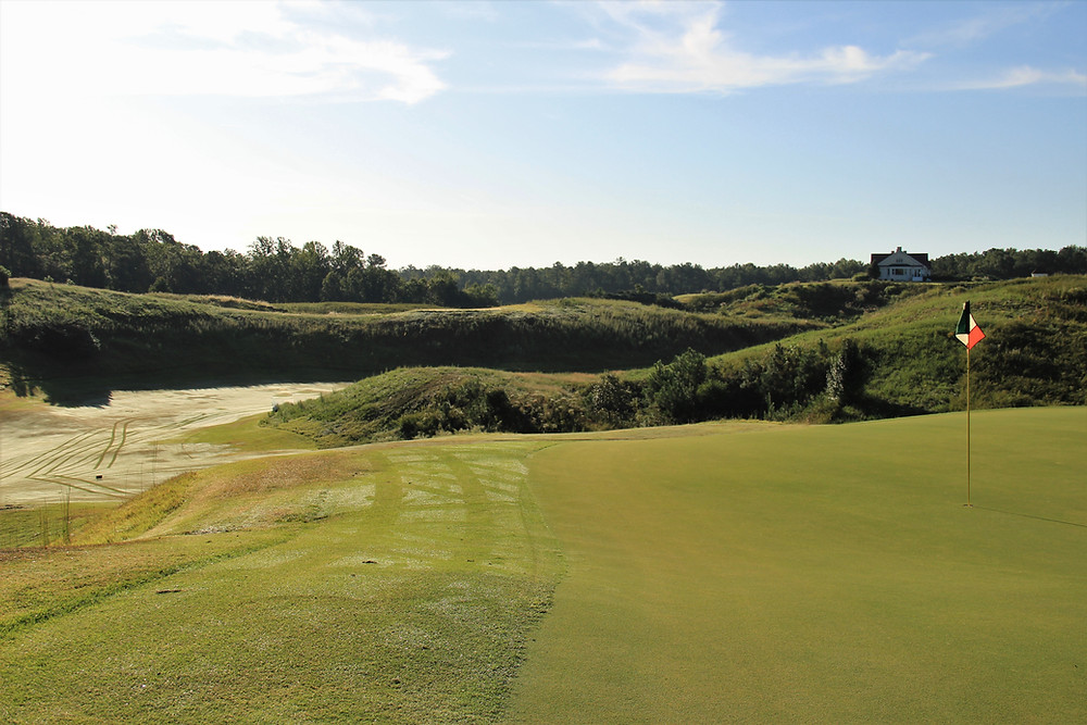 Royal New Kent, Mike Strantz, links golf, williamburg, richmond, virginia