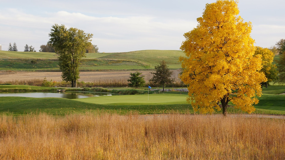 Stone Creek Golf Club, D.A. Weibring, Williamsburg, Iowa, nine holes, 9 holes