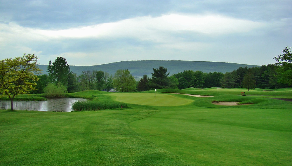 Bristol Harbour Lodge and Golf Club on Canandaigua Lake in upstate New York by Robert Trent Jones Sr