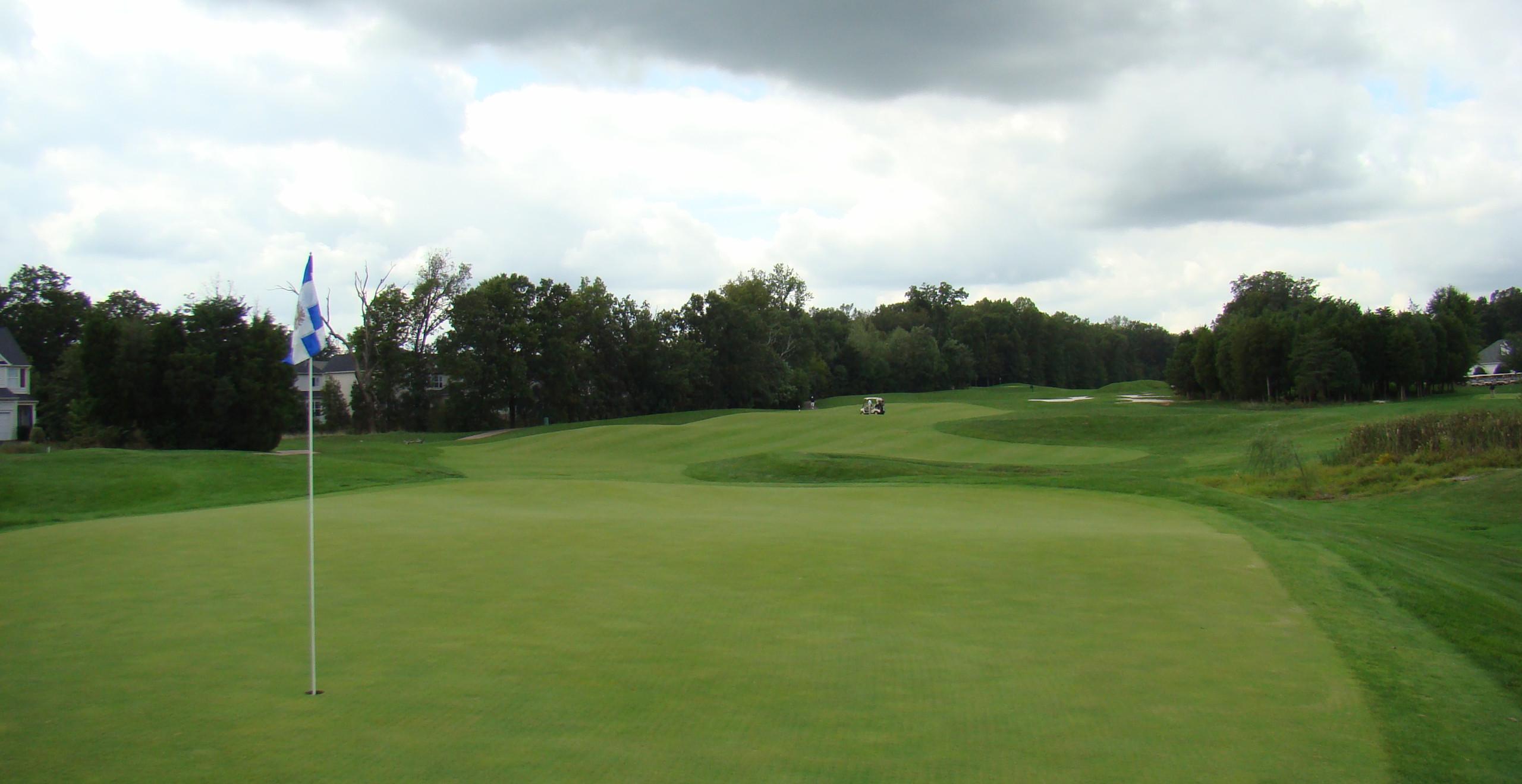 Virginia Oaks Golf Club Gainesville VA P.B. Dye