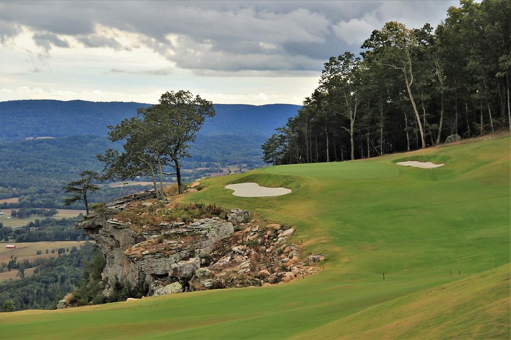 McLemore, golf course, mountain golf, bill bergin, rees jones, infinity green, cliffside, Lookout Mountain, Chattanooga