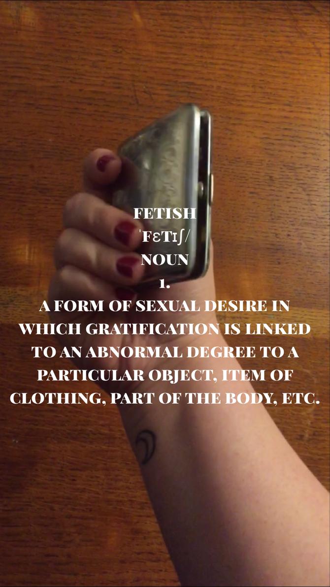 Fetish - Smoking