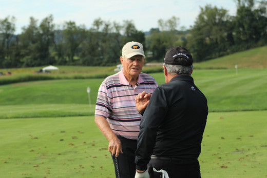 Jack Nicklaus Gary Player The Olde Farm Golf Club Bristol Virginia VA  PGA Tour American Legends