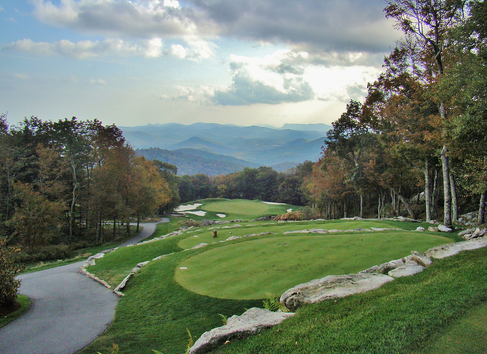 Blue Ridge Mountains, Linville Ridge, Golf Club, Bobby Weed, George Cobb, Live the ridge, Linville, NC