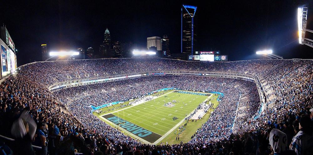 Bank of America Stadium Carolina Panthers Charlotte NC Monday Night Football