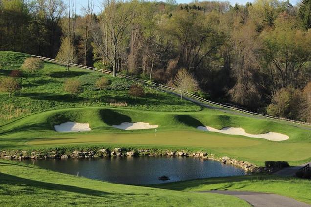 Oglebay Resort Wheeling WV Golf Arnold Palmer Robert Trent Jones Crispn Course Par III Speidel