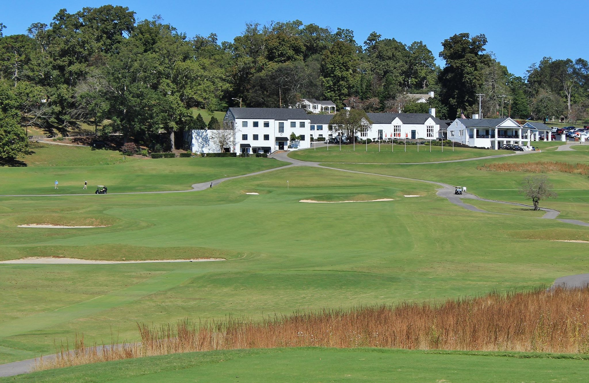 Holston Hills Country Club in Knoxville TN designed by Donald Ross restored by Tom Doak