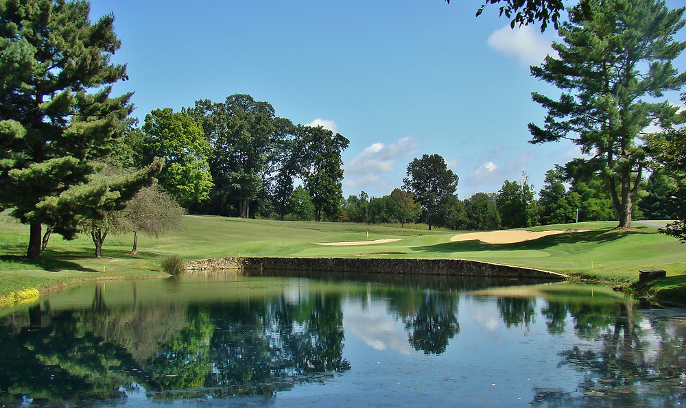 Johnson City Country Club Tennessee AW Tillinghast