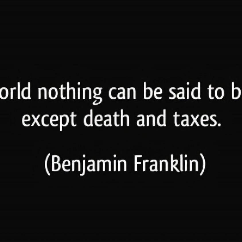 Death & Taxes War
