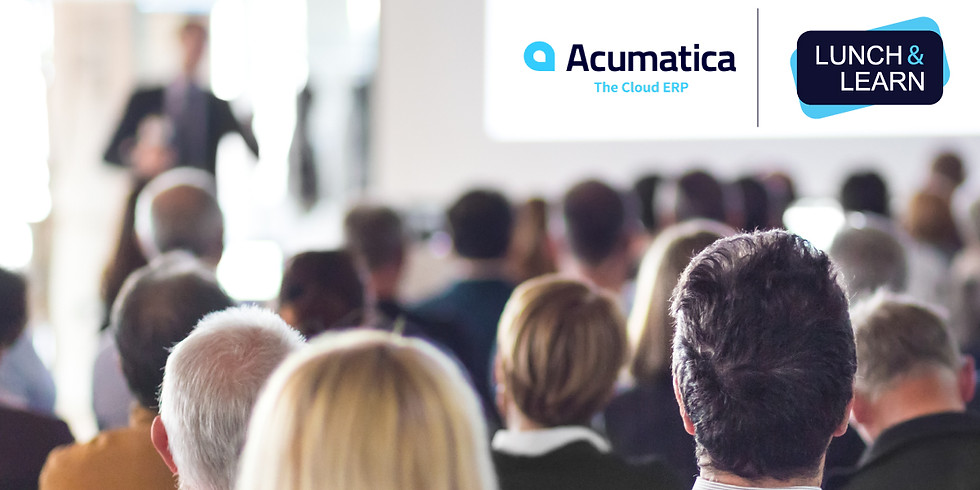 Lunch & Learn - Demonstration of Acumatica the Cloud ERP Software