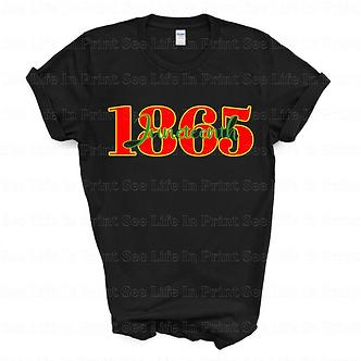 1865 Juneteenth Unisex Tee
