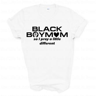 Black BoyMom Unisex Tee