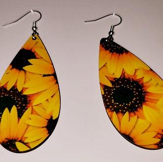 Sunflower Fields Earrings