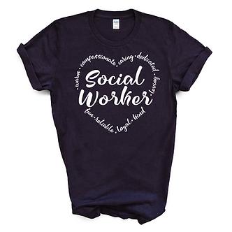 Social Worker Unisex Tee
