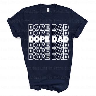 Dope Dad Unisex Tee