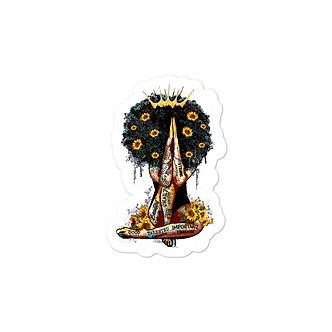 Sunflower Goddess Sticker