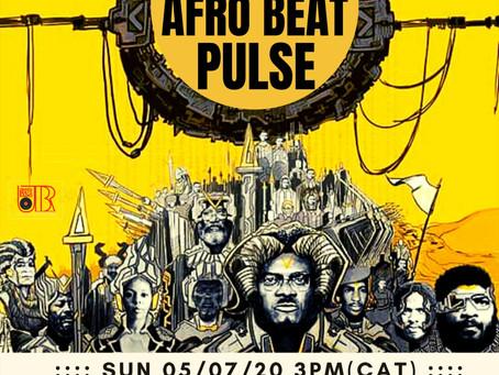 Rise of the Afronaut: Black Vulcanite INTERVIEW 5 July 2020 on Afrobeat Pulse on UBRfm