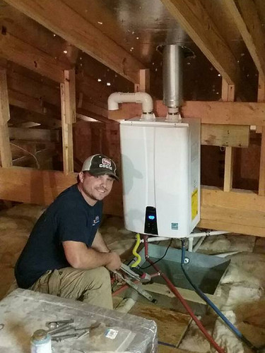 Navian Tankless Water Heater Install
