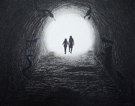 Walking Through The Darkness Towards The Light