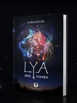 Livro Lya, dois mundos_Capa