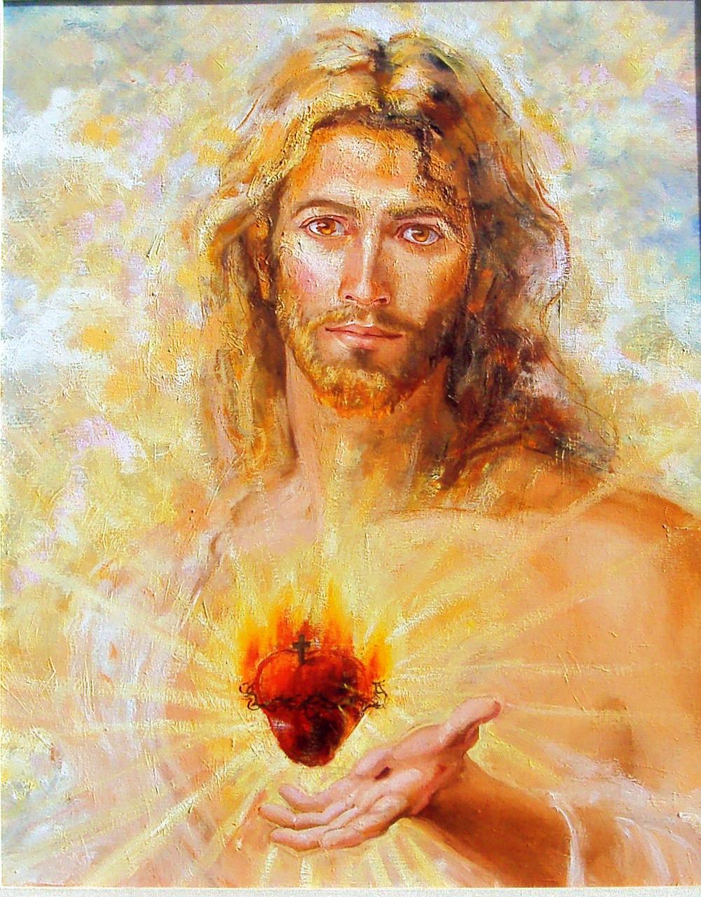 Jesus Cristo - Sagrado Masculino (Autor Desconhecido por mim)
