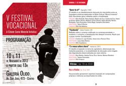 2012-11-11 Facebunda no V Festival Vocacional