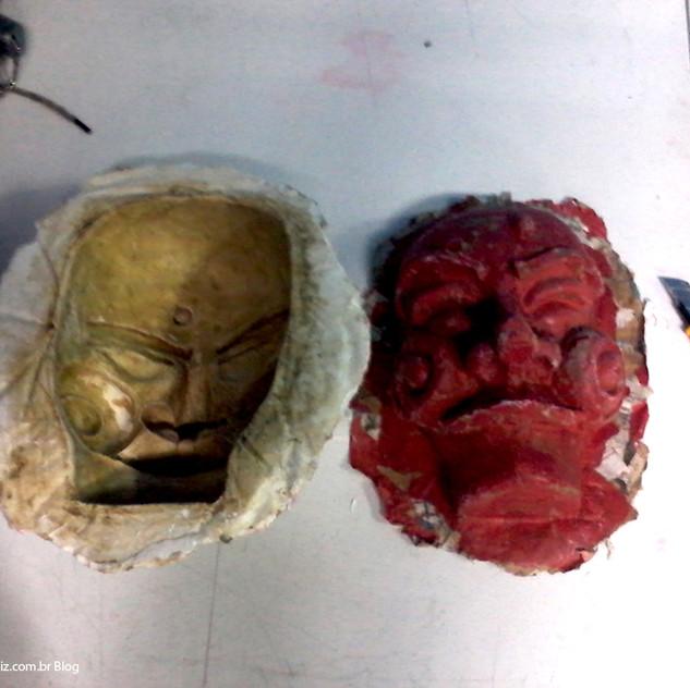 Máscara fresquinha e molde