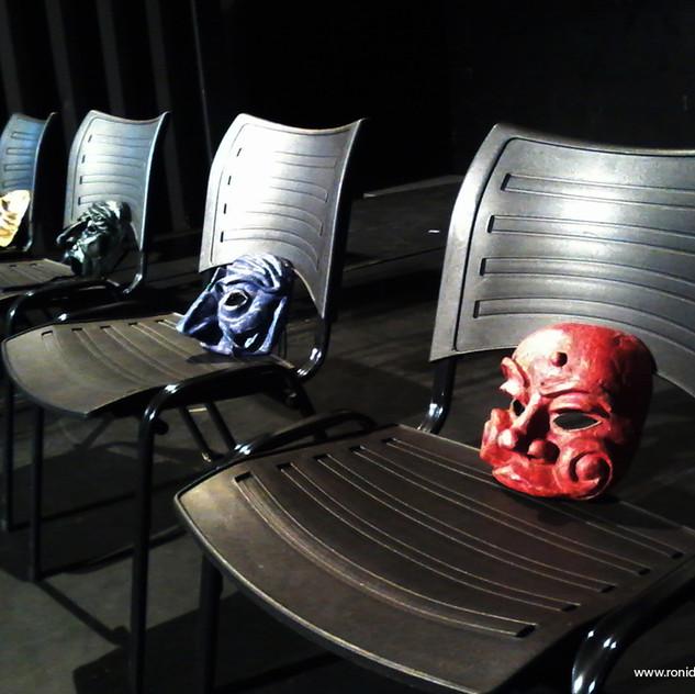 Aula Prática, Atuação com a Máscara