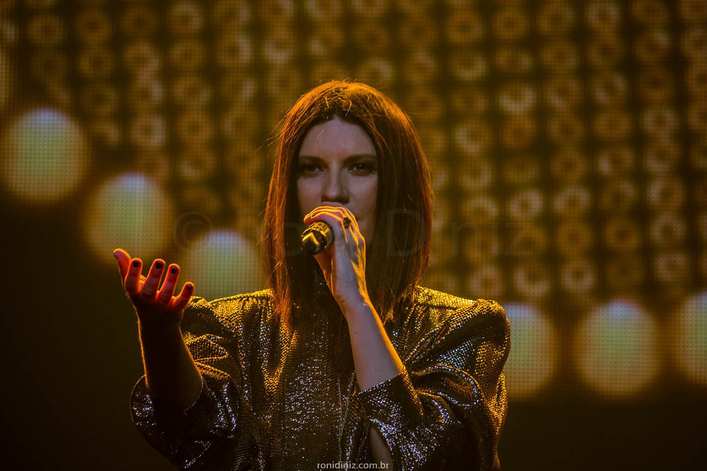 Laura Pausini Tour Fatti Sentire em São Paulo por Roni Diniz