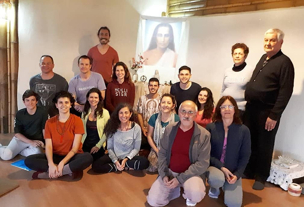 Formação em Kriya Yoga - Pousada Flor das Águas em Cunha 08/2018
