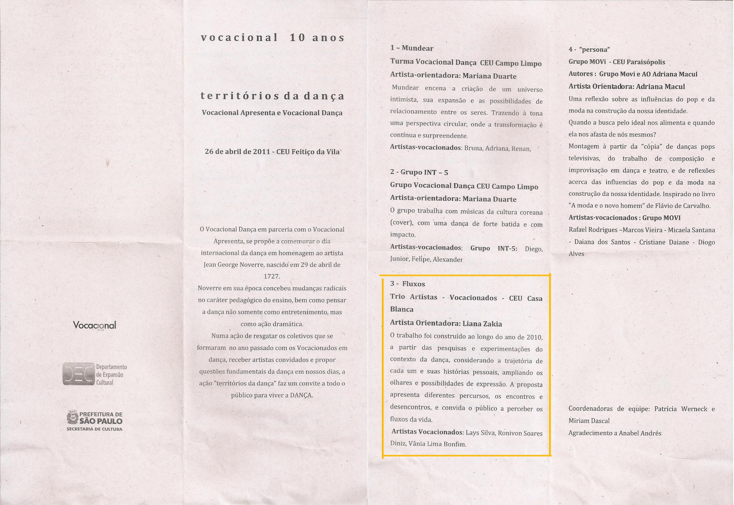2011-04-26 Fluxos no Vocacional Apresenta