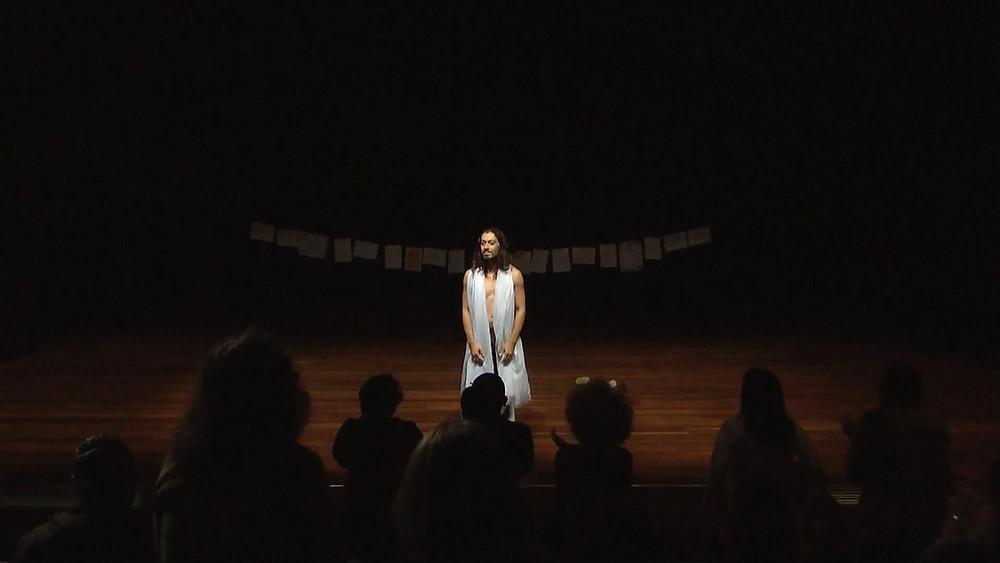 Espetáculo MÃE, Roni Diniz, Experimento 2, CEU Casa Blanca, 29/05/18