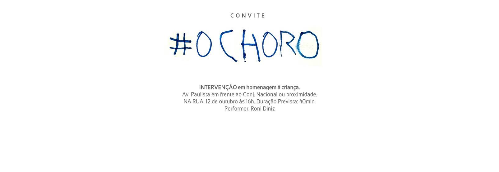 O_Choro_Performance,_Intervenção_Urbana_para_o_Dia_das_Crianças_-_Flyer