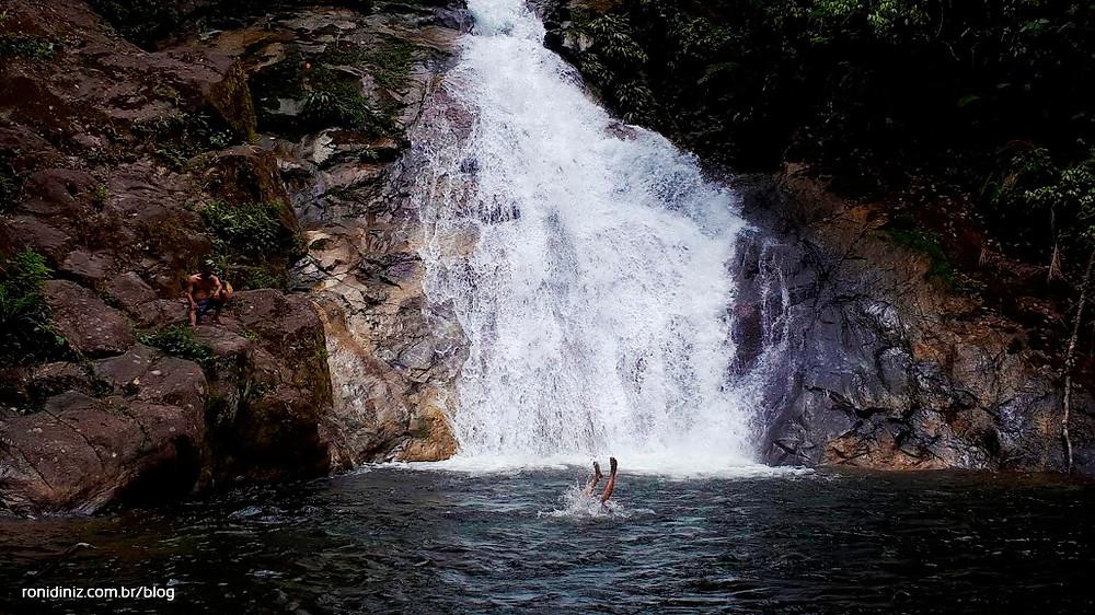 2ª Queda d'Água do Ribeirão de Itu em Boiçucanga: Cachoeira Samambaiaçu Foto: Roni Diniz