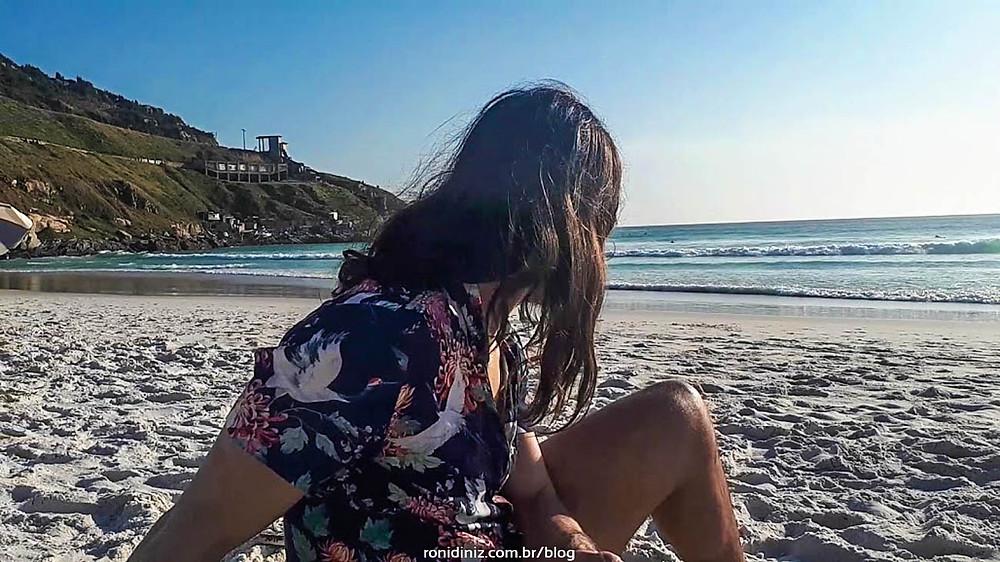 Meu 1º dia na Praia Grande
