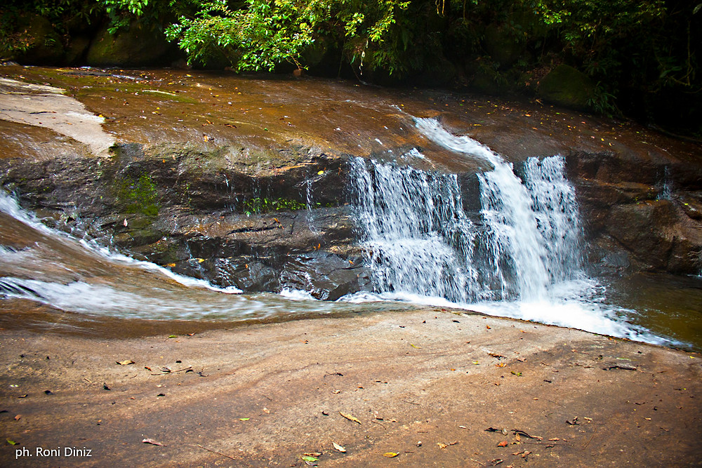 Cachoeira da Bacia próxima ao Retiro