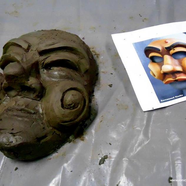 2º e 3º dia: Escultura de Arlecchino