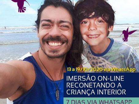 IMERSÃO: Reconectando a Criança Interior (Oportunidade!)
