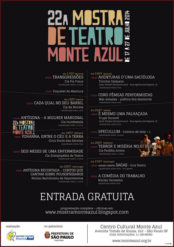 2014-07-26 22a Mostra de Teatro Ong Monte Azul